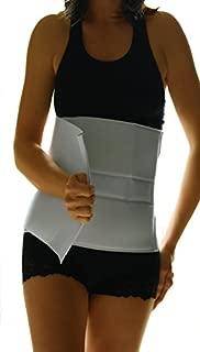 Alpha Medical Abdominal Binder Support Wrap/Surgical Binder/Hernia Support/Abdominal Hernia Reduction Device. L0625 (10