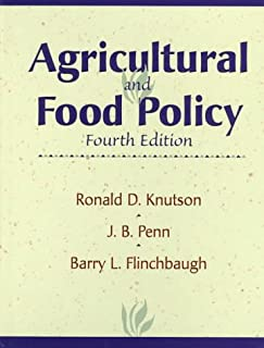 Agricultural and Food Policy (4th Edition)