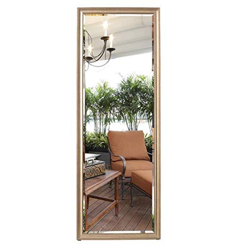 Espejo de dormitorio Espejo de tienda de ropa Espejo de ropa Espejo de piso de la sala Espejo que se puede colgar en la pared Espejo de cuerpo entero en la puerta Espejo rectangular Espejo grande
