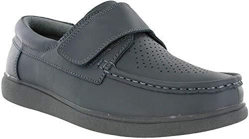 Touch & Close skórzane buty do kręgli unisex, - szary - 42 EU