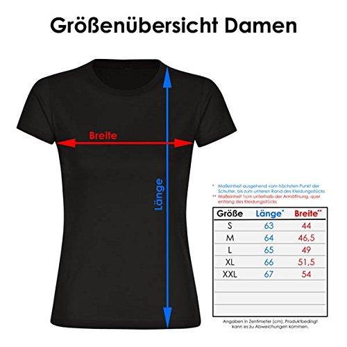 T-Shirt Modern I Love Celle schwarz Damen Gr. S bis 2XL, Größe:XXL - 3