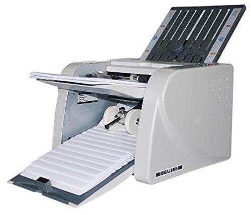 Ideal Falzmaschine 8305/83050011 pergrau/mittelgrau DIN A4 60 bis 120 g/qm