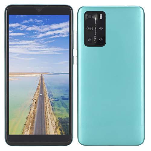 Celulares Desbloqueados 3G, P48 Pro 5.8' Smartphones Smartphone Libres Teléfonos Móviles Baratos, Doble SIM, 512MB + 4GB, Android 6.1, con Auricular, Versión Global(Verde)