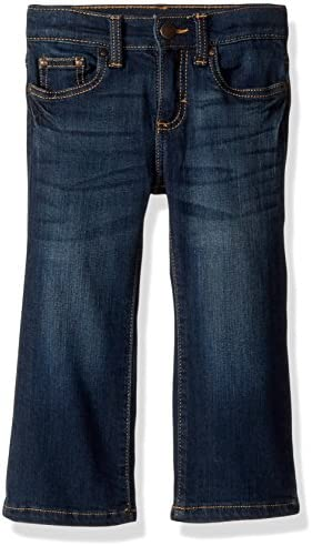 Wrangler Baby Boys Five Pocket Boot Cut Jean Dark Blue 6 9 Months product image
