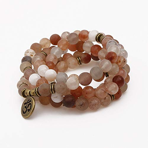 ZGRJIUERYI Stenen armband, natuursteen kralen armband, natuursteen 108 Mashan Jade armband karakter Boeddha hanger halsketting armband yoga armband, gepersonaliseerde kleding accessoires sieraden