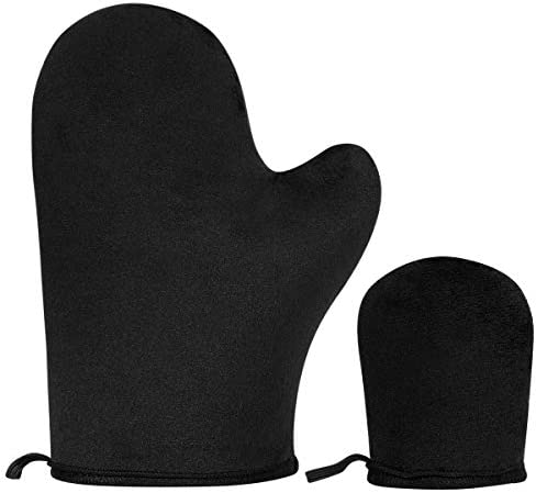 2 Pack Self Tanning Mitt Applicator Sunless Tanner Mitt with Thumb and Mini Face Applicator product image