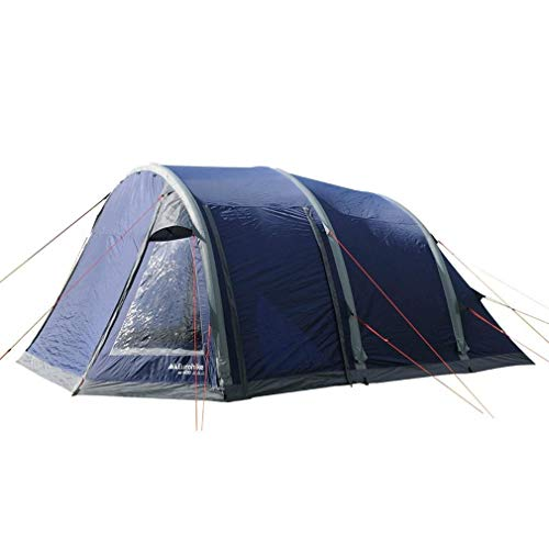 Eurohike Air 600 Easy To Pitch 6 Person Inflatable Tent, Navy, One Size