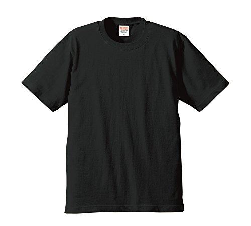 (ユナイテッドアスレ)UnitedAthle 6.2オンス プレミアム Tシャツ 594201 [メンズ] 002 ブラック M