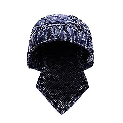 XuHangFF - Gorro de protección para cabeza de soldadura, diseño de sombrero de soldadura con disipación de calor