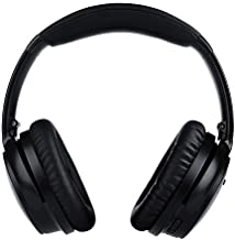 Over-Ear Wireless Headphones with Premium Microphone Noise Cancelling Adjustable Bluetooth iOS Android PC 30hr Audio Playtime ANC CSRY120 by 18Tech