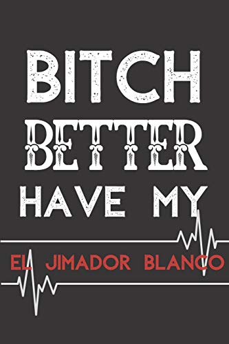 El Jimador Blanco NOTEBOOK: Journal and Notebook - Composition Size (6x9) With Lined and Blank Pages, Perfect for Journal, Doodling..