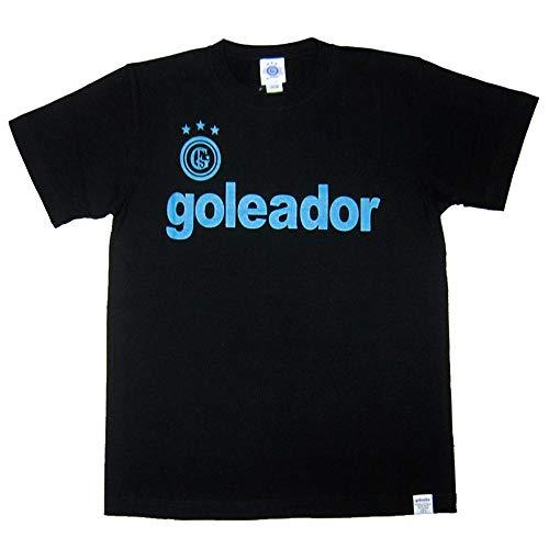 goleador(ゴレアドール) BOXロゴT シャツ G-2351 Lサイズ ブラック