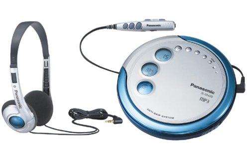Panasonic SL-SX420 CD/MP3 Player with Headphones (Metallic finish)