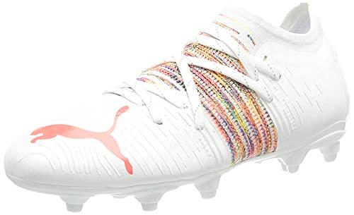 Puma Future Z 4.1 FG AG Jr, Zapatillas de Fútbol, White Red Blast 94, 32 EU