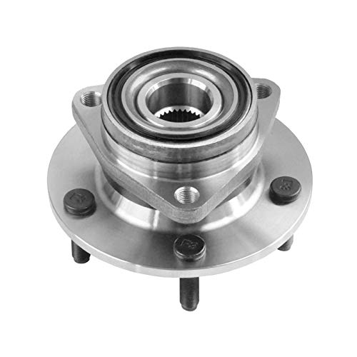 DRIVESTAR 515006 4WD Front Wheel Hub & Bearing Assembly for 1994-99 Dodge Ram 1500 Pickup(4x4 5 lugs No ABS)