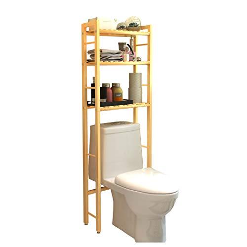 Estantes De Madera De Pino sobre Inodoro Estante De Almacenamiento De Baño, Estante De Almacenamiento Ecológico, Organizador De Baño Compacto WC
