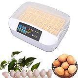 DXQDXQ Incubatrice Eggs Automatic Incubatrice for Uova Digitale Intelligente Completamente Automatica Incubatrice Motorizzata con Controllo della Temperatura e Dell'umidità Hatching Chick