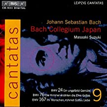 Bach: Cantatas, Vol 9 BWV 24, 76, 167 Bach Collegium Japan * Suzuki