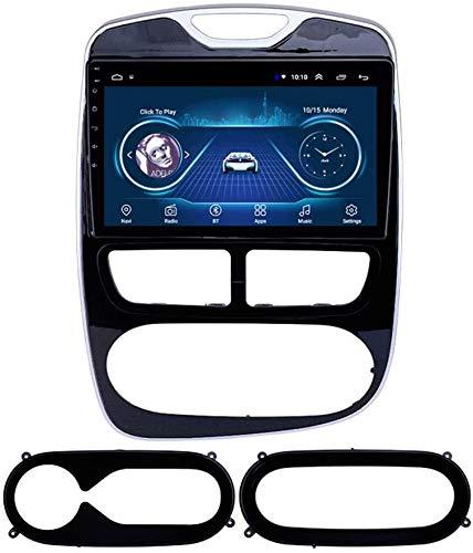 AEBDF Android GPS Navegación para Renault Clio 2012-2016.9.0 Pulgadas Coche Estéreo Radio Media Player Sat Nav Bluetooth Volante Control,8Core WiFi+4G 4+64 DSP+Carplay