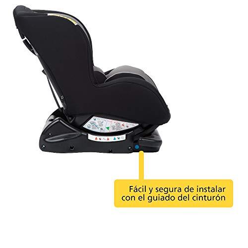 Safety 1st SWEET SAFE 'Hot Grey' - Silla de auto, grupo 0+/1, 0-18 Kg, color gris