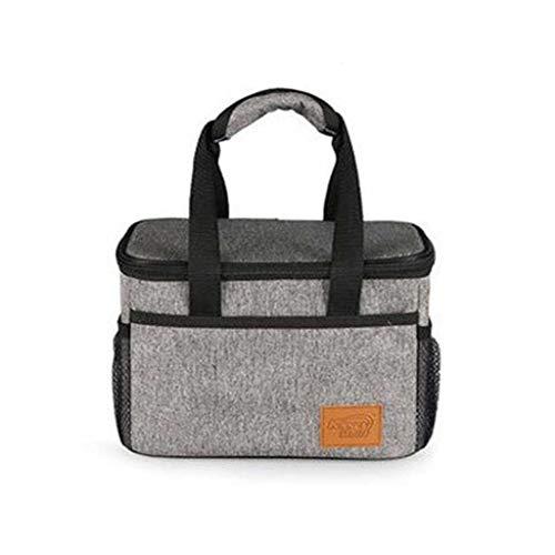 XINGDONG Il Pranzo Picnic Medium Bag Piazza di Isolamento del Sacco Ispessito Impermeabile Pranzo al Sacco refrigerato Box Lunch Bag Box Durevole