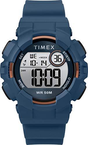 Timex Mako DGTL TW5M23600 - Reloj Digital con Correa de Silicona (44 mm)