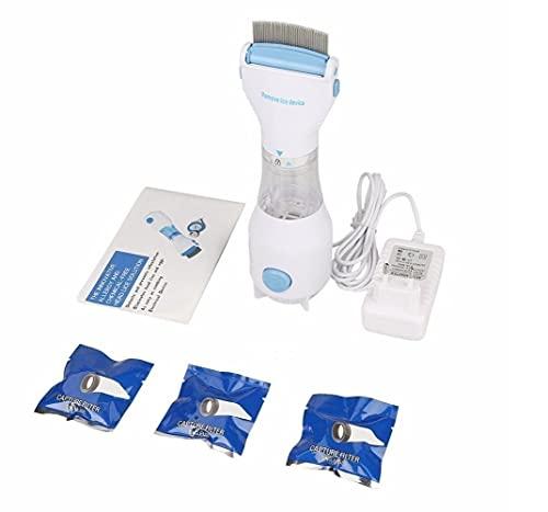 Electric Lice Comb - Head Vacuum Lice comb Electric Capture Pet Filter Lice Treatment