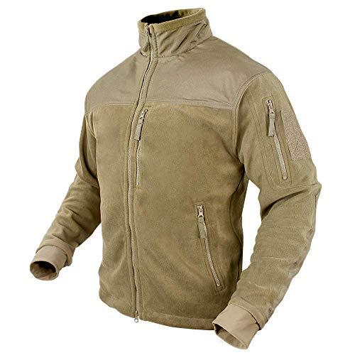 Condor Micro Fleece Jacket (Coyote Tan, Large)
