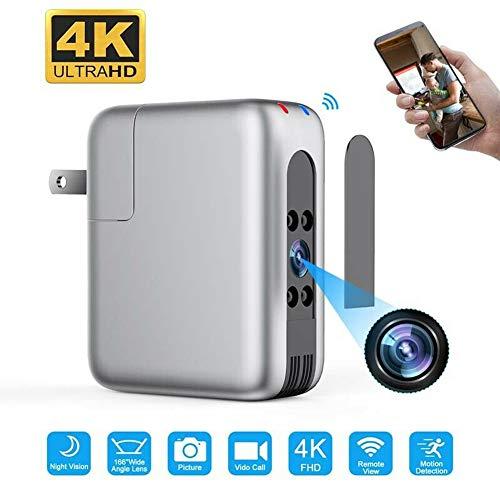 N A Smart Home Baby Monitor CCTV WiFi Cámara 166 Lente Ancha 4K FHD