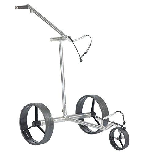tour made Haicaddy® HC7 Travel PRO Edelstahl Lithium Elektro Golftrolley - 3