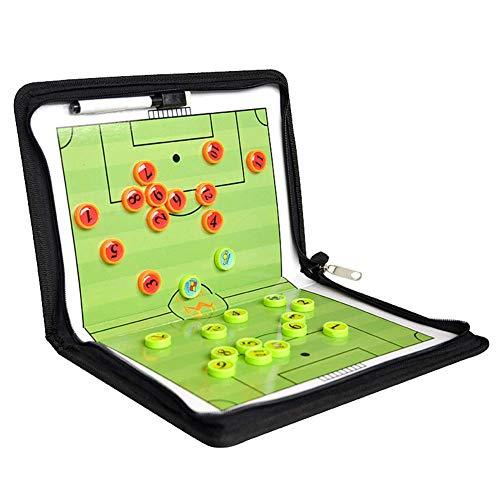 Football Tactique Board, Professionnel Football Marqueur - Pliable Orientation Entraînement...