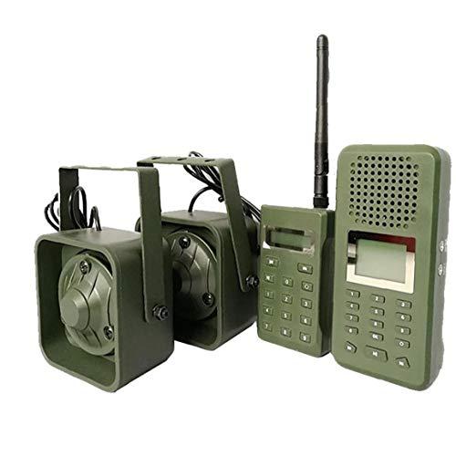 Uccello placca esterna Bird Sound Decoy elettronici MP3 dell uccello di esche del suono con 200 Suoni telecomando Sorage Box GreenHunting Accessori