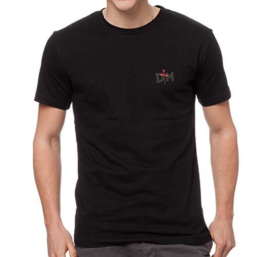 Depeche Mode Music Rock Punk Metall Rules Fun Bestickte Logo T-Shirt, super Qualität, 100% Baumwolle - 4150 (L)