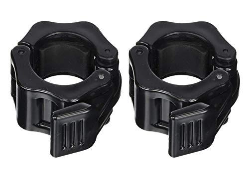 Bocotoer 30 mm Hantel Verschluss Barbell Hantelstangen Verschluss Collar Hantelverschlüsse Barbell Halsbänder Packung mit 2