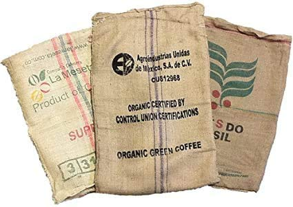 Caffè Manfredo Sacchi di Juta da Caffe'- 70x100 cm, Confezione da 10 Pezzi