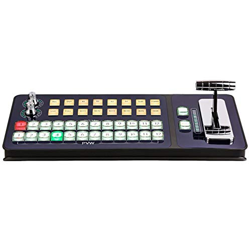 Vmix USB2.0-MID Controlador Conmutador Estación de Conmutación T-bar Panel de Control Live Console Education Grabación Transmisión Guía Teclado