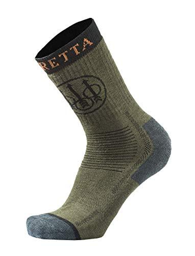 Beretta Herren Jagdsocken Socken, Grün, XL