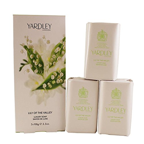 Yardley Yardley Lily of the Valley - 3 x 100g - Luxe Zeep