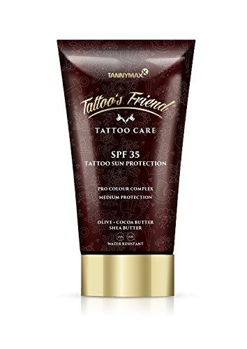 Tattoo\'s Friend SPF 35 Tattoo Creme Sun Protection mit Kakao Butter und Shea Butter / Medium Protection