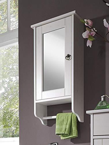 Main Möbel Spiegelschrank 'Linz' Kiefer weiß