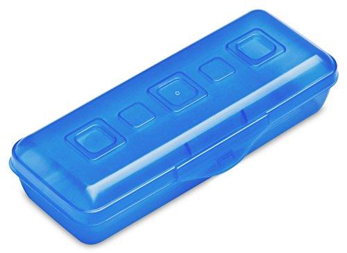 Sterilite Pencil Box, Blue