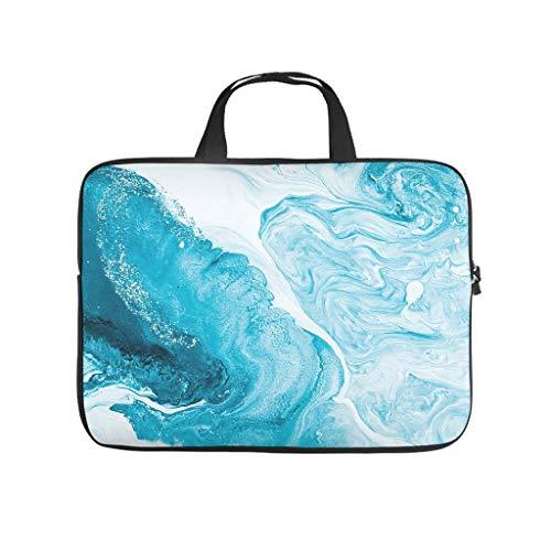 Funda para portátil con textura de mármol normal, única, resistente al agua, para tablet, adecuada para interiores y exteriores.