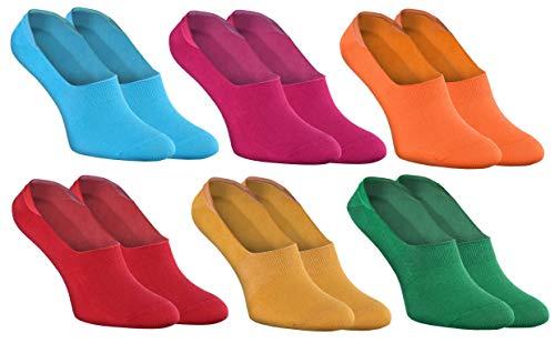 Rainbow Socks - Man Vrouw Kleurrijke Kousenvoetjes