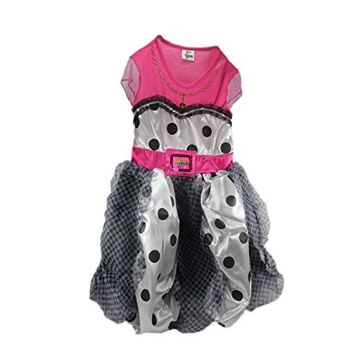 Unbekannt Mädchenkostüm Hannah Montana Kleid 5-6 Jahre Disney Puffball Dress