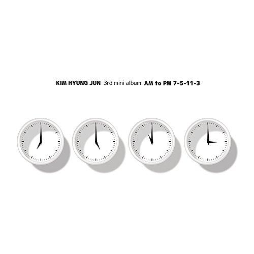 "Windmill Entertainment Kim Hyungjun Ss501 - Am To Pm ""7-5-11-3 (Repackage) 2Cd+Photobook"