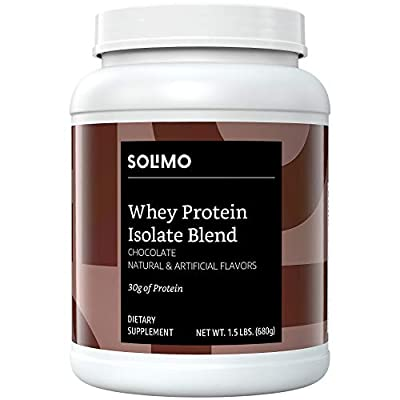 Solimo Whey Protein Isolate Blend