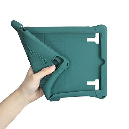 zhishen Funda Blanda para niños para Tableta de 10,1 Pulgadas 9,0 Funda de Silicona con Soporte Ajustable para Tablet PC de 10 Pulgadas + Pluma + Correa-