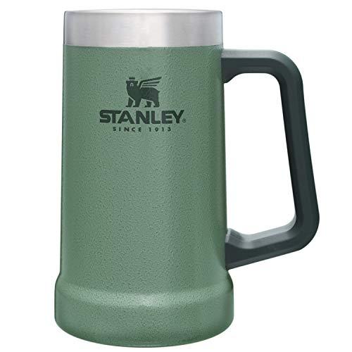 STANLEY(スタンレー)新ロゴ真空ジョッキ0.7Lグリーン炭酸ビール保冷保温アウトドアスポーツ観戦保証02874-064(日本正規品)