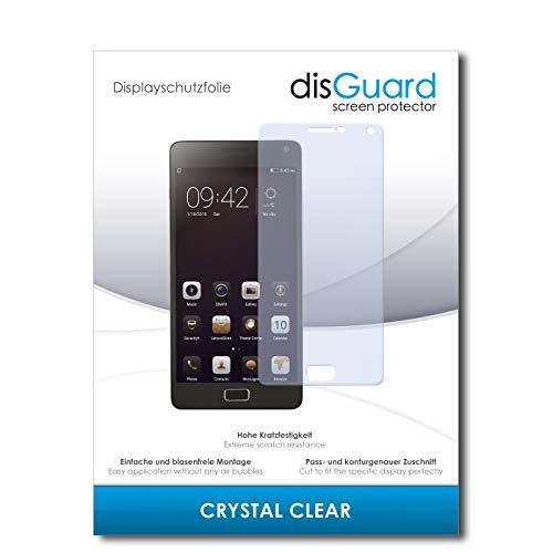 disGuard® Protector de Pantalla [Crystal Clear] compatibile con Lenovo Vibe P1 [2 Piezas] Cristal, Transparente, Invisible, Anti-Arañazos, Anti-Huella Dactilar - Película Protectora
