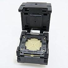 10x10 Open-top, 0.4mm 10x10mm IC Body NP506-092-014-SC-G Programming Socket Soldering Version -0.4-STP Testing Burn-in Socket QFN92 MLF92 WLCSP92 Package ALLSOCKET QFN92